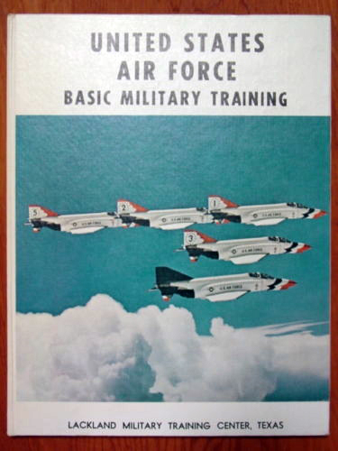 1972 Lackland AFB BMT Yearbook