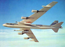 B-52G with North American AGM-28 Hound Dog Missile