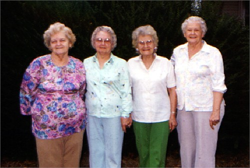 Ethel is the second from the right